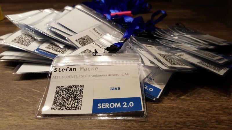 Badges der SEROM 2.0