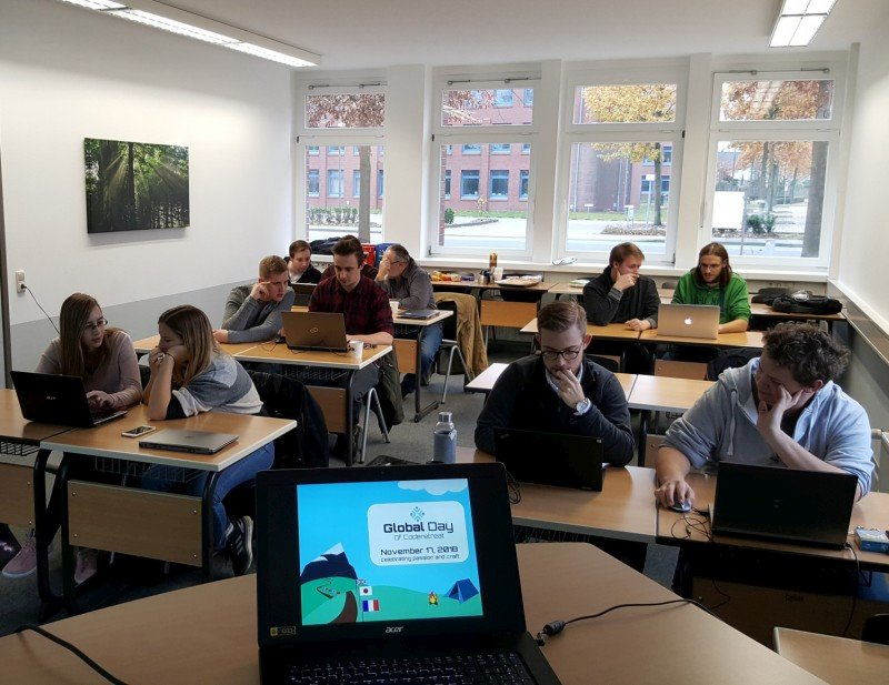 Global Day of Code Retreat 2018 in der PHWT in Vechta