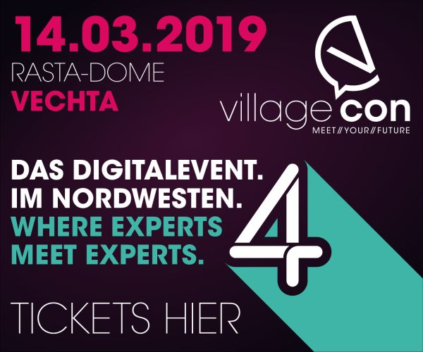Tickets für die VillageCon 2019 in Vechta